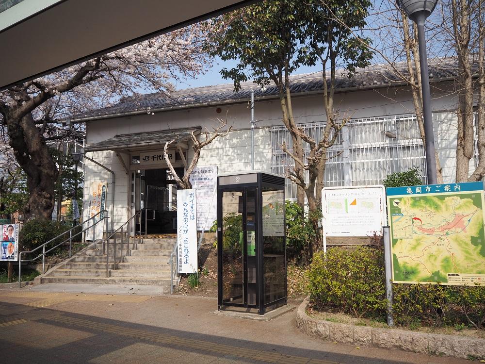 JR嵯峨野線 並河駅